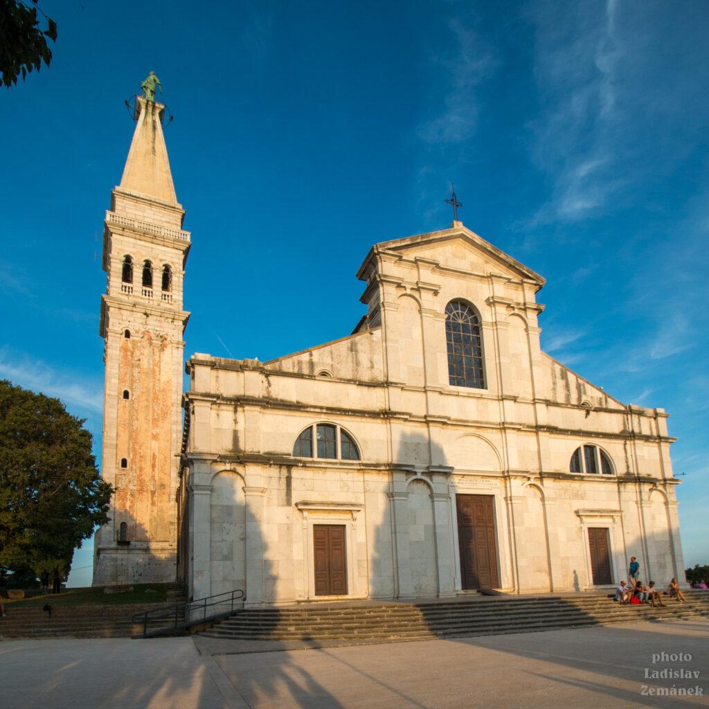 Rovinj - Stari Grad - bazilika sv. Eufemie