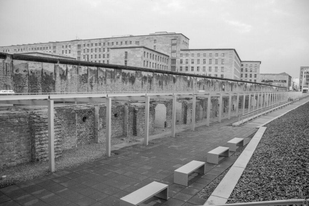 Berlínská zeď - zbytky připomínají její historii