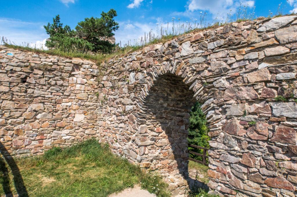 zřícenina - hrad Zubštejn