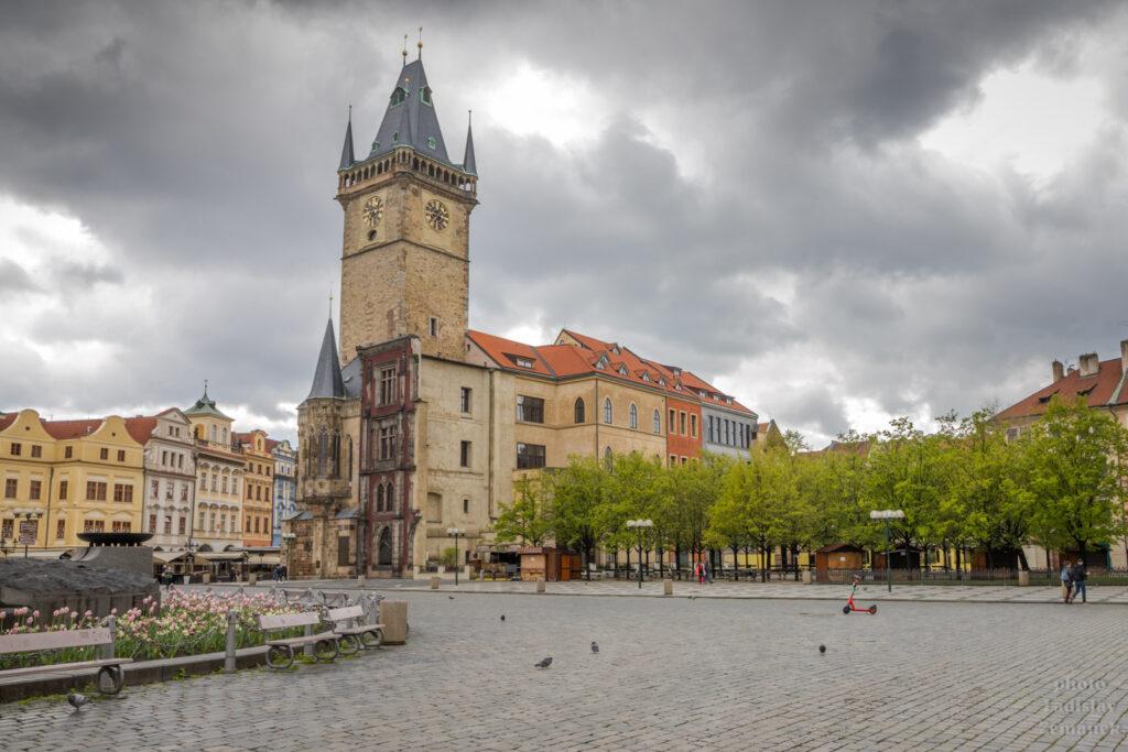 Staroměstské náměstí a radnice
