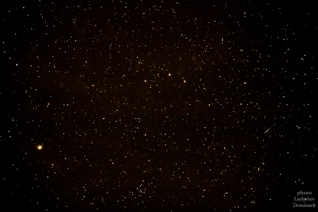 hvězdná obloha v pošumaví