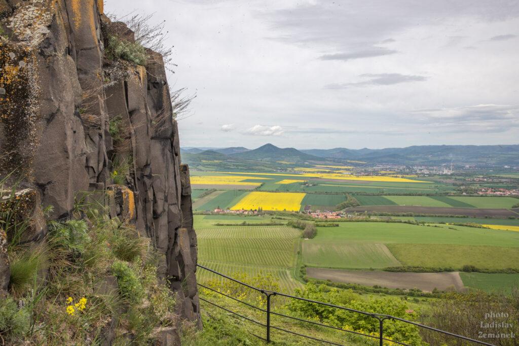 hrad hazmburk - výhled