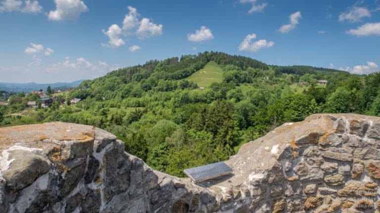 Hrad Frýdštejn - výhled z věže
