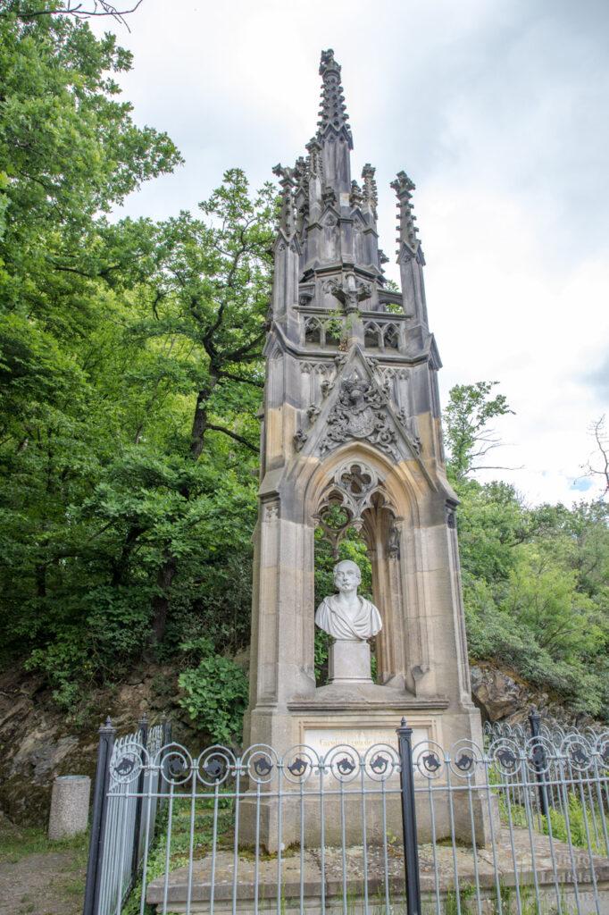 pomník knížete Karla Egona II. z Fürstenbergu