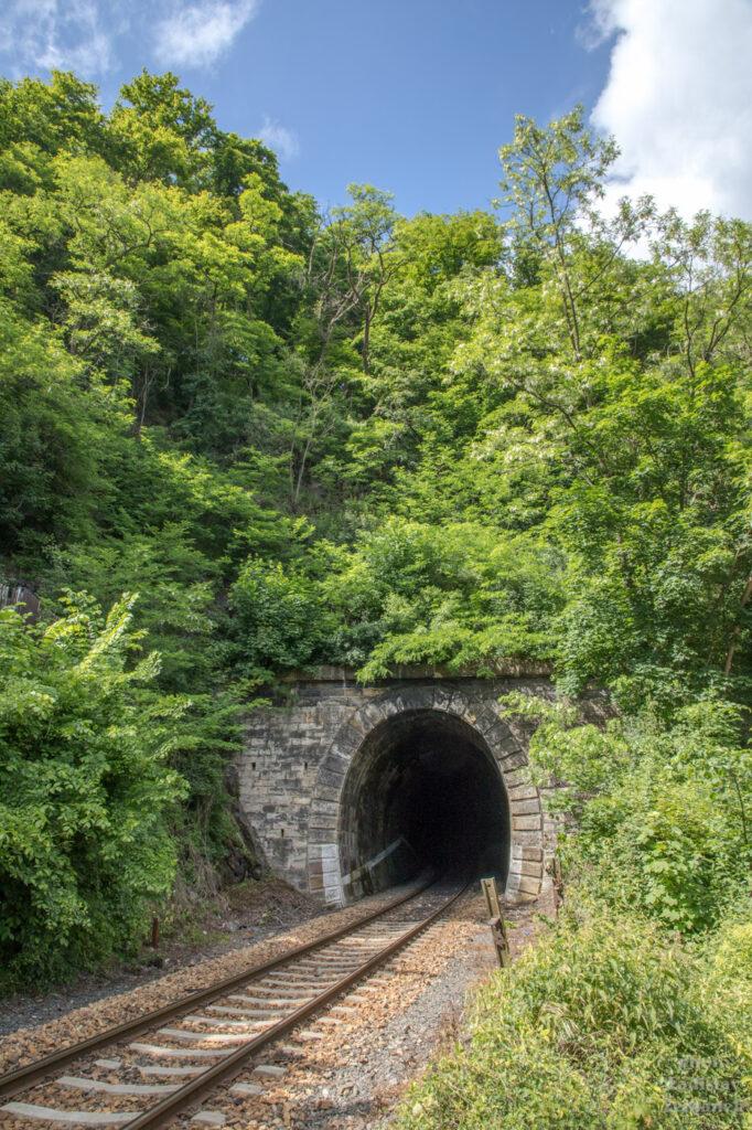 Křivoklát - železniční tunel