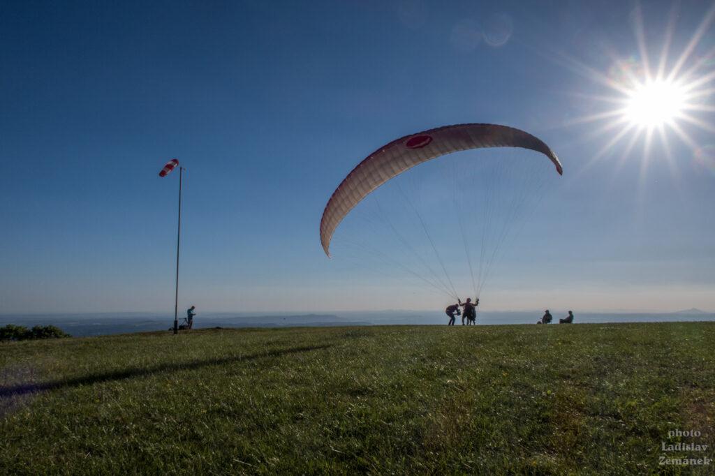 Český ráj - Kozákov - paraglide