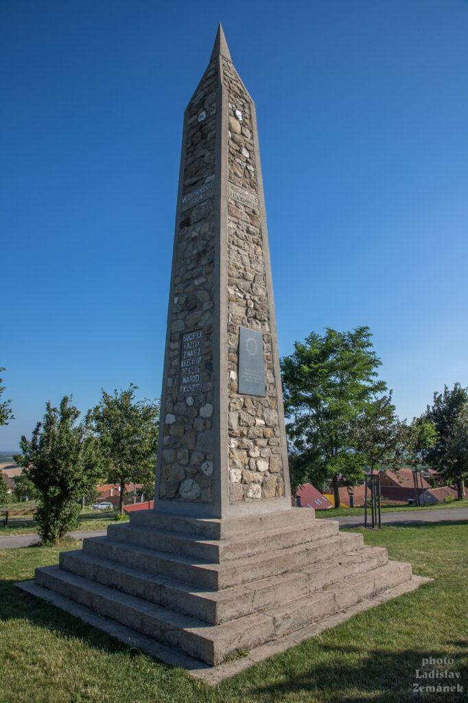 Vrbice - památník osvobození