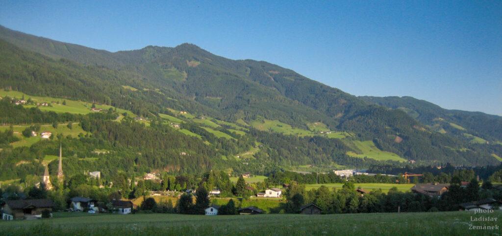 Tauernská cyklostezka a Bischofshofen