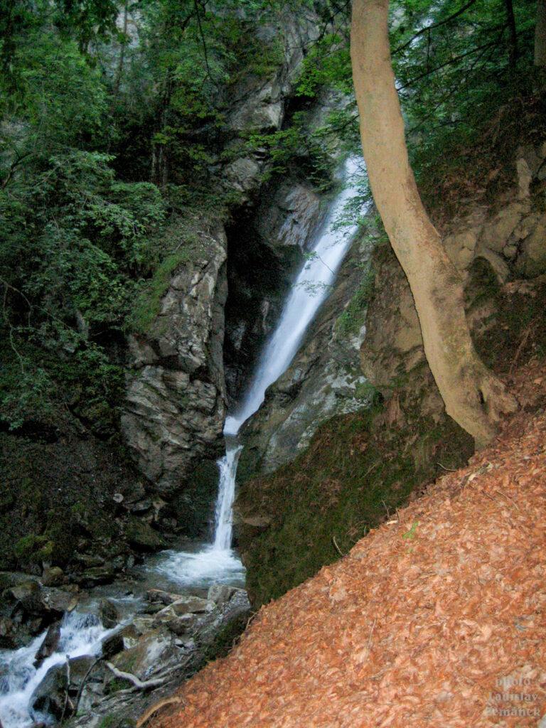 Bischofshofen - vodopády u můstků