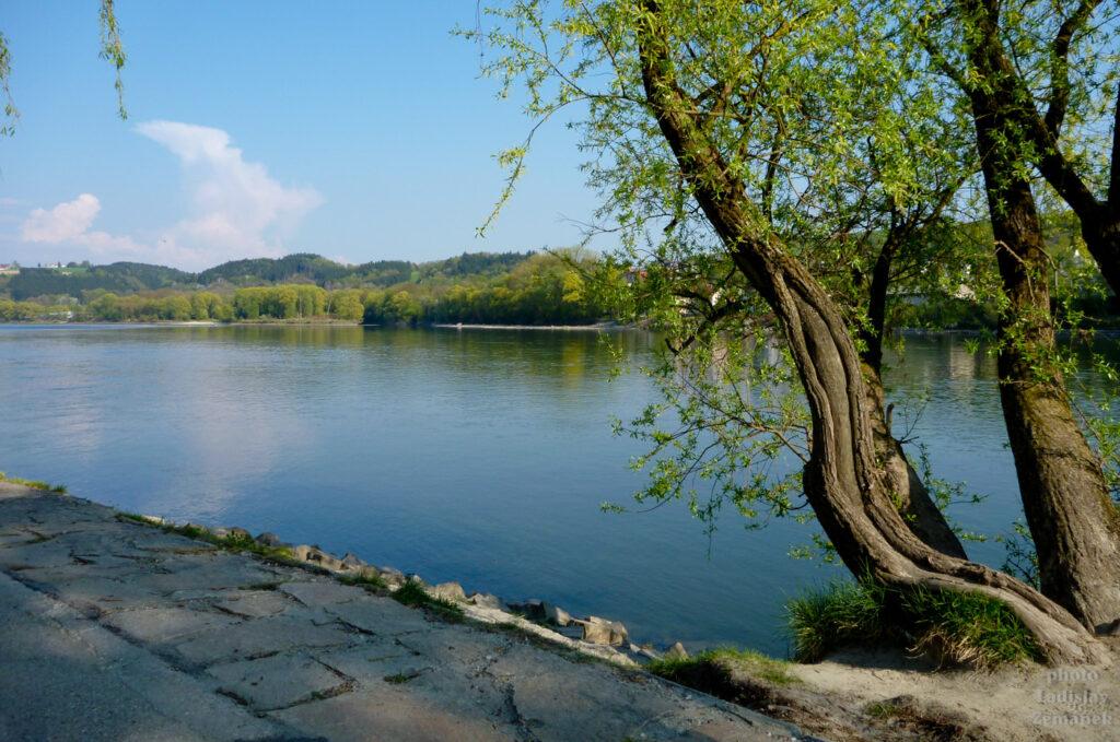 Pasov - park na soutoku řek