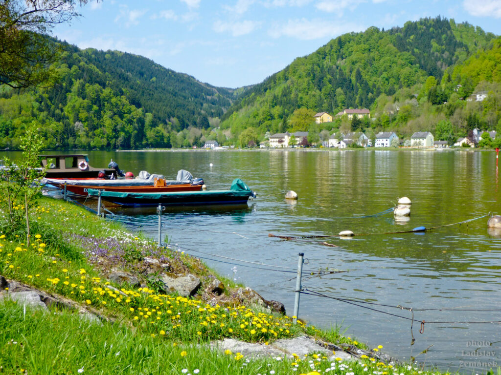 výhled na meandr Dunaje