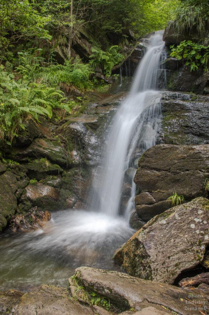 vodopád - Borový potok