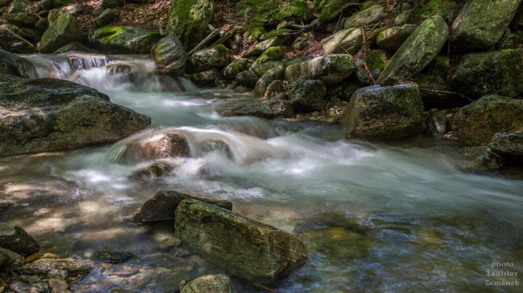 kaskády - Keprnický potok