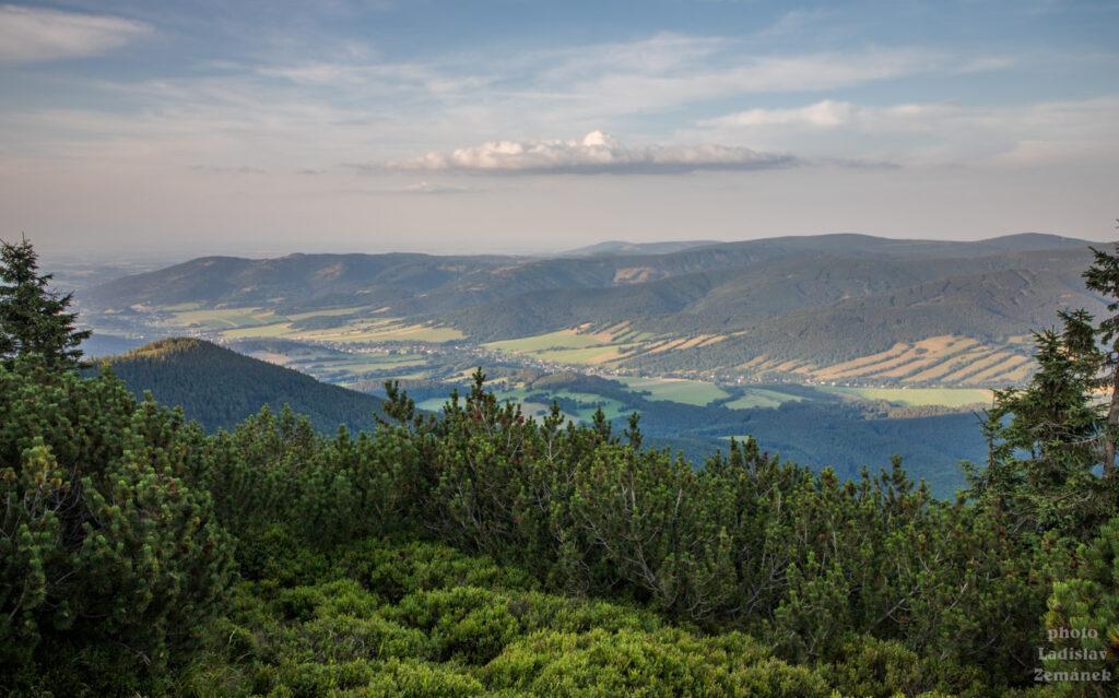 Výhled od Červené hory
