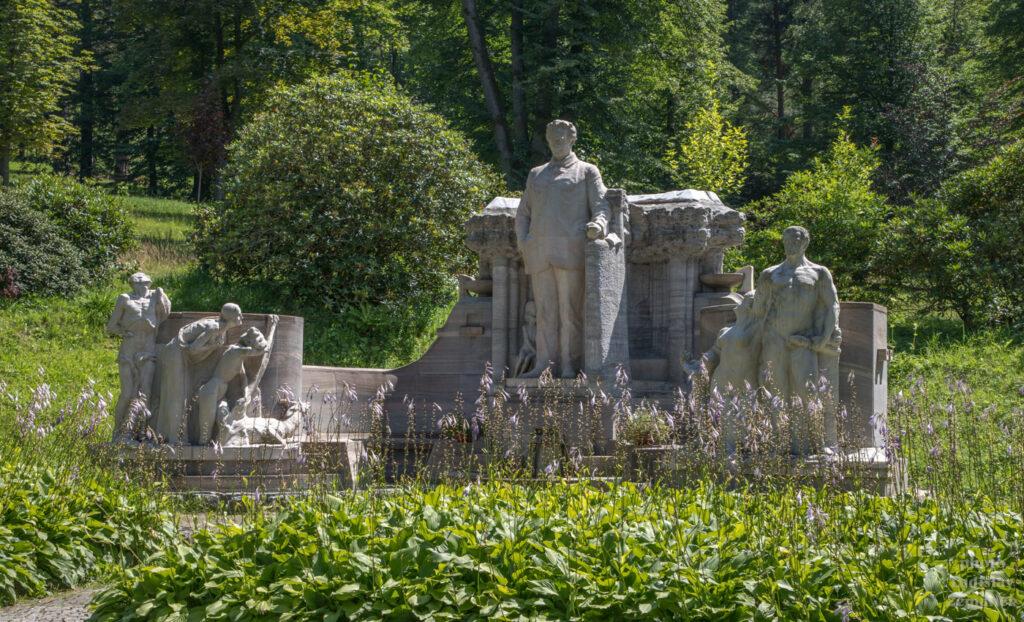 Jeseník - Vincenz Priessnitz - památník