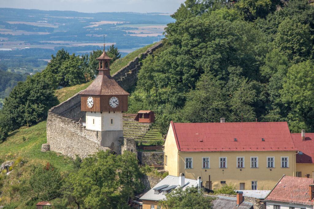Štramberk - hradby