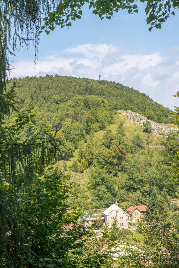 Štramberk - výhled na Bílou horu