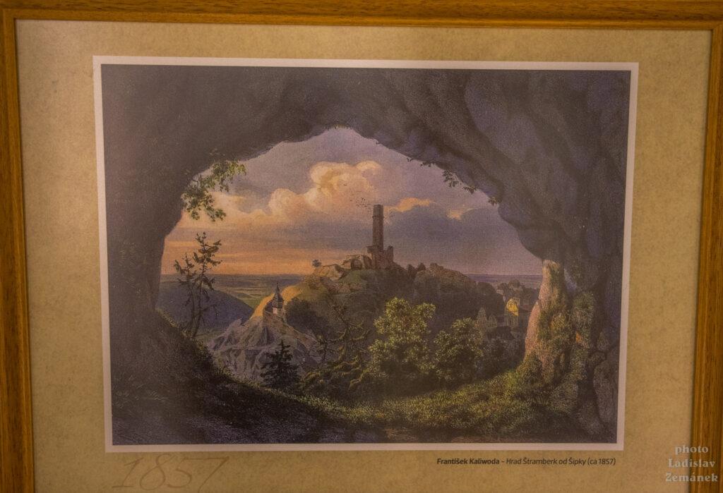 Štramberská Trúba - historický obraz