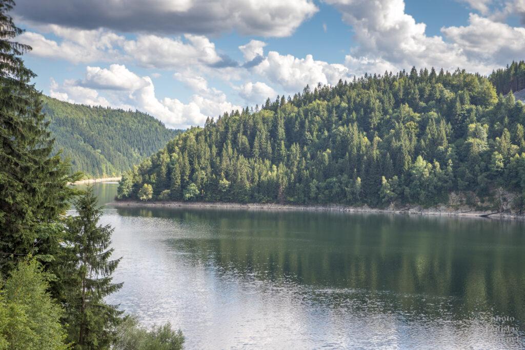 Beskydy - přehrada Šance