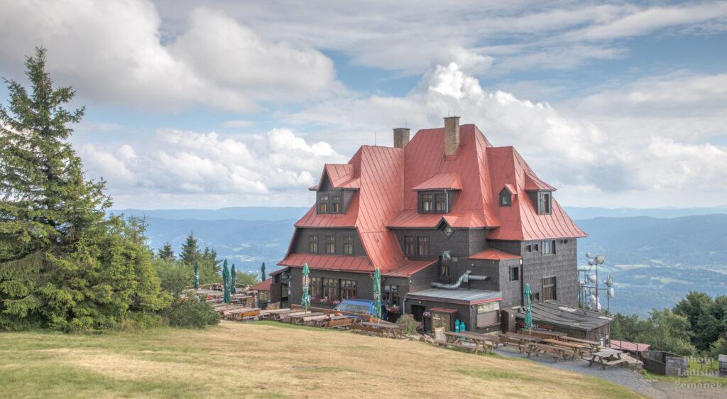 Radhošť - turistická chata