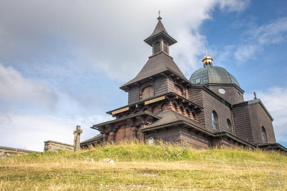 Radhošť - Kaple sv. Cyrila a Metoděje
