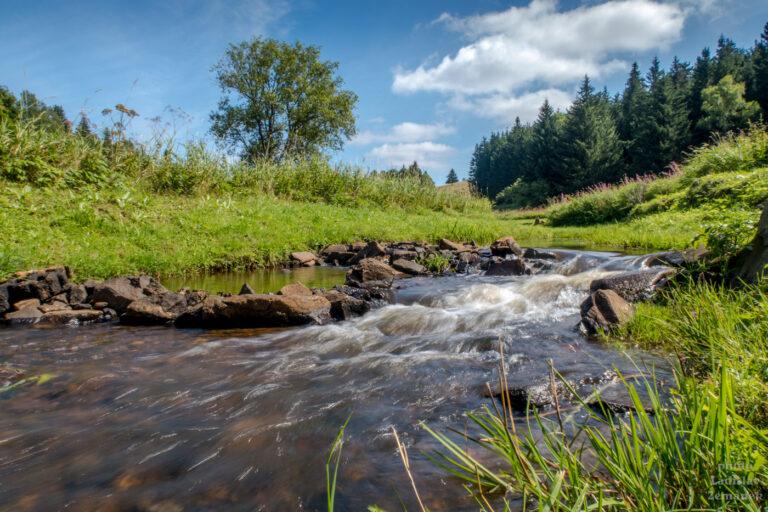 Moldava - Moldavský potok cestou na Fláje