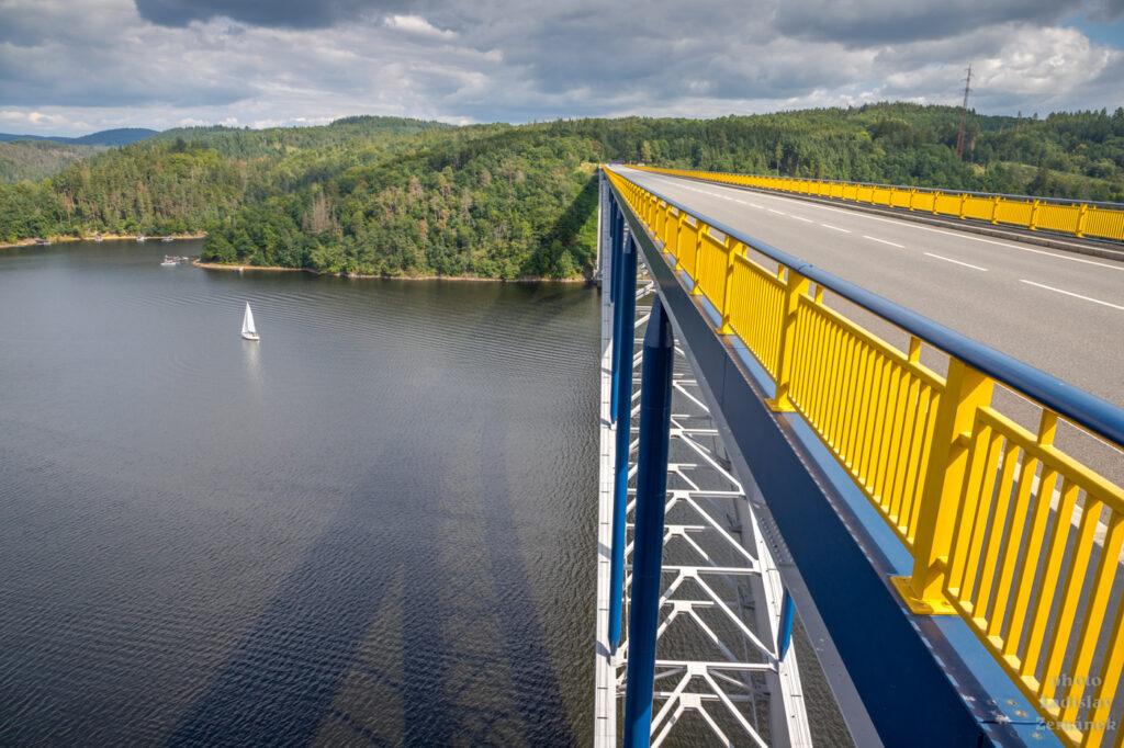 Orlická přehrada a Žďákovský most