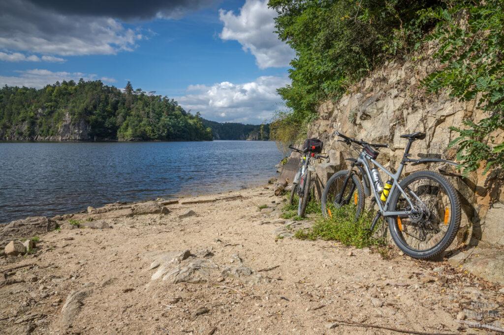 Varta - vyhlídka na Orlickou přehradu
