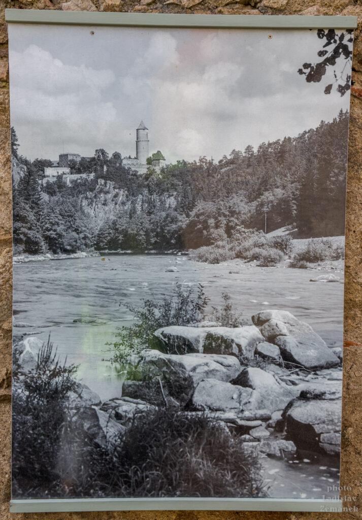 Hrad Zvíkov - historická fotografie