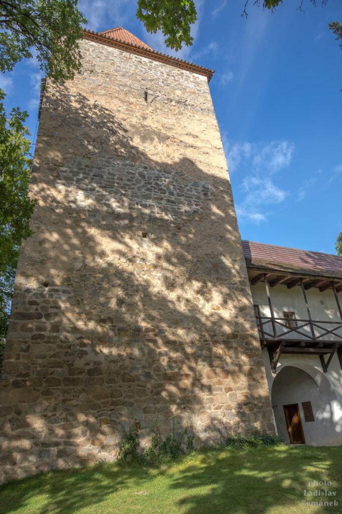 Hrad Zvíkov - Červená věž
