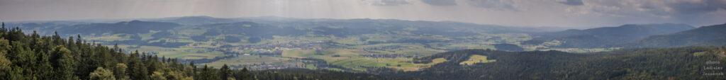 Rozhledna Alpenblick - výhled