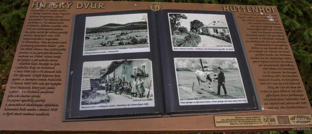 Album Šumavy - Huťský Dvůr