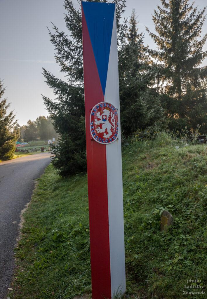 Československý hraniční sloup