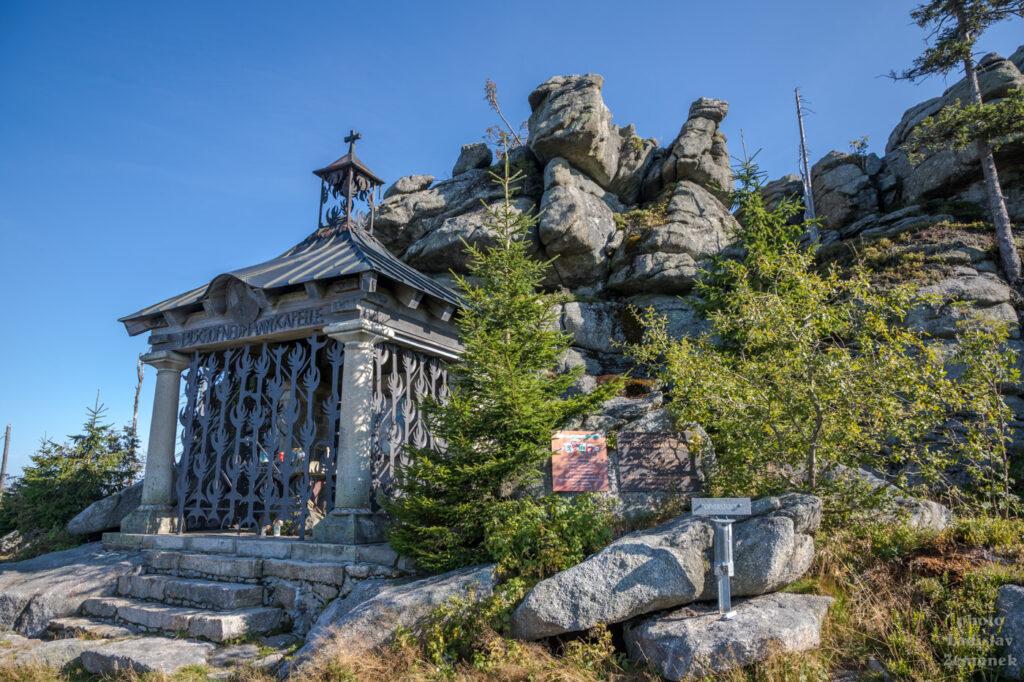 kaple pod vrcholem Hochstein