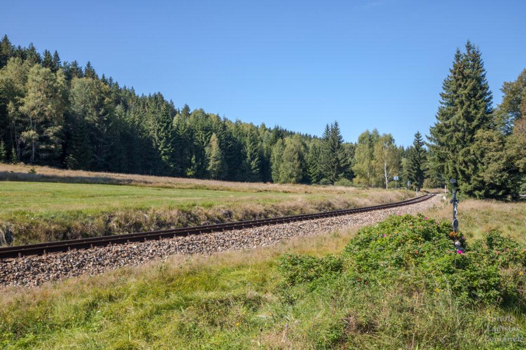 Železnice Nová Pec - Nové Údolí