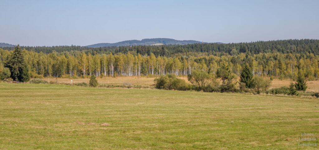 Krajina kolem meandru Teplé Vltavy