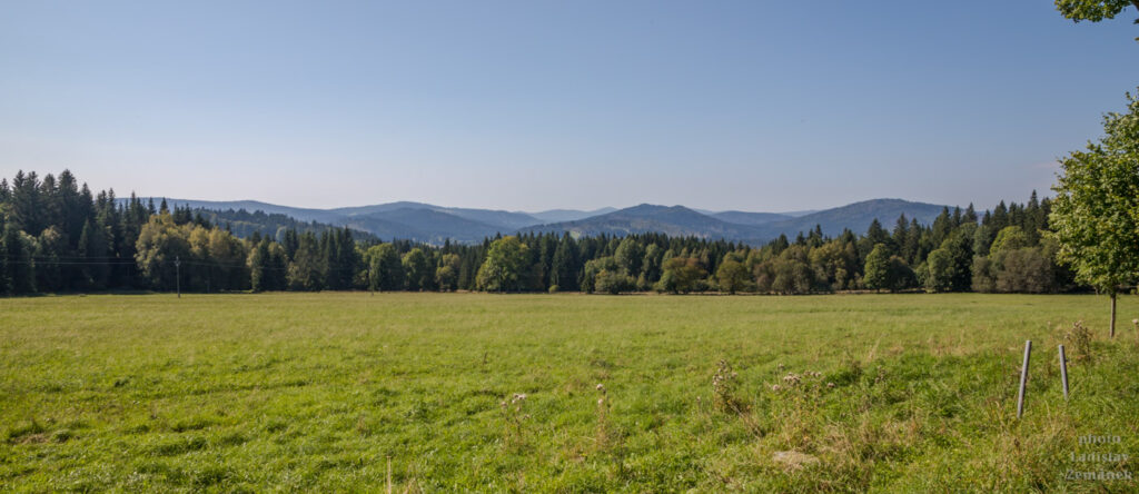 Šumava - bývalé Radvanovice a okolí