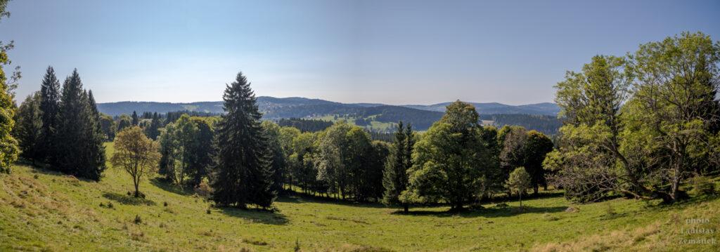 Prachatická Zlatá stezka - šumavská krajina
