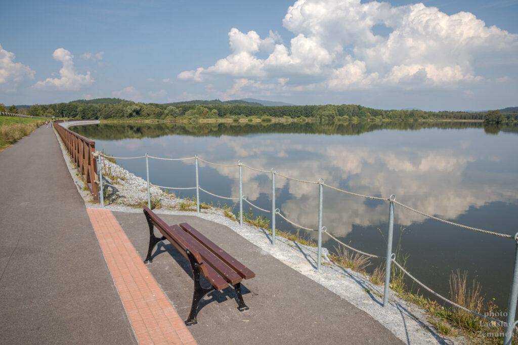 cyklostezka v Černé v Pošumaví