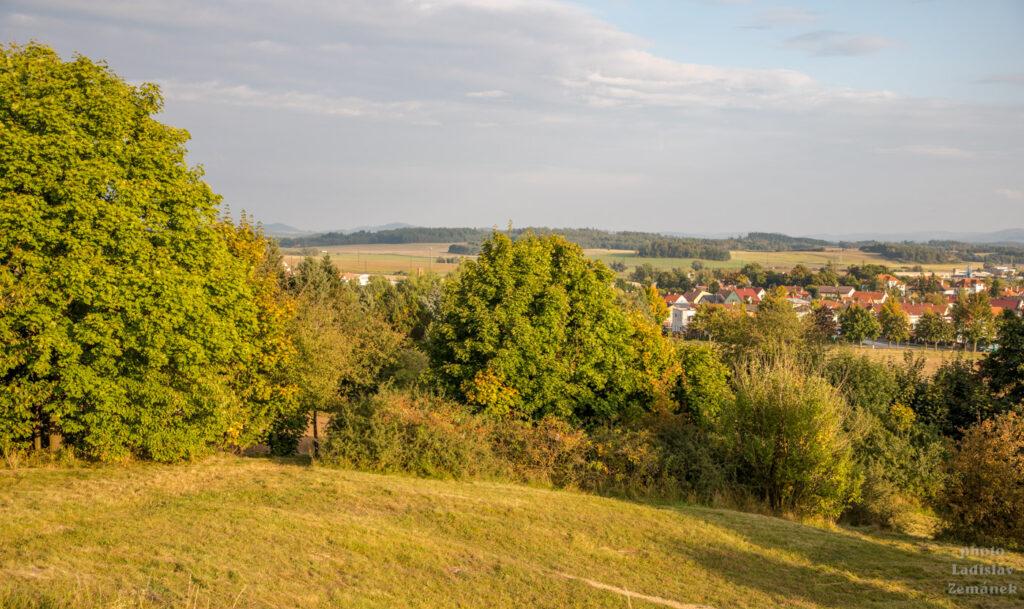 Horažďovice - vrch Loreta - výhled